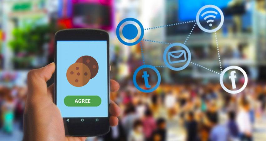 phone accept cookies