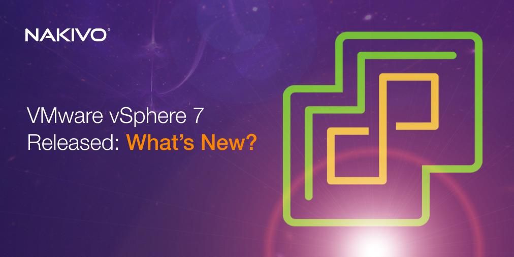 VMware vSphere 7.0 Released_ What's New_ Twitter