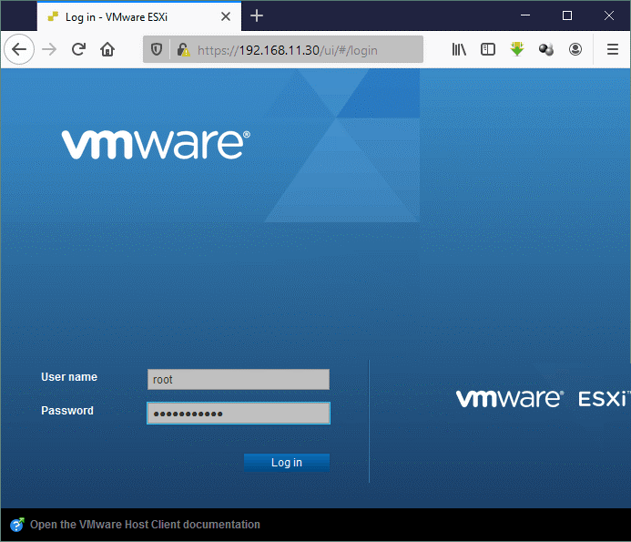 A-login-to-VMware-Host-Client