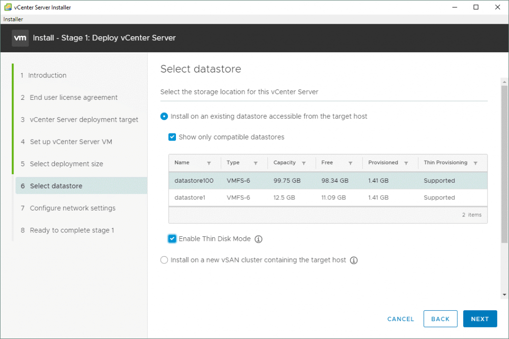 VMware-vSphere-installation-and-setup_selecting-a-datastore-to-deploy-the-vCenter-7-virtual-appliance