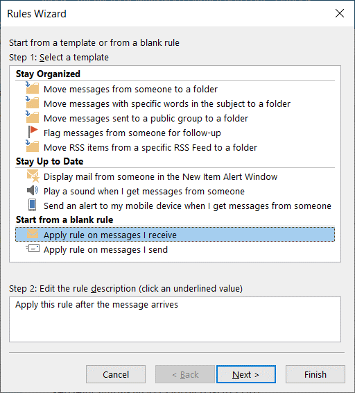 Selecting-a-template-in-the-Rules-Wizard