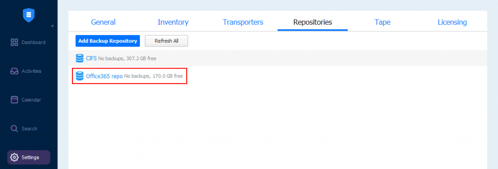 A-backup-repository-is-created-for-Microsoft-OneDrive-for-Business-backup