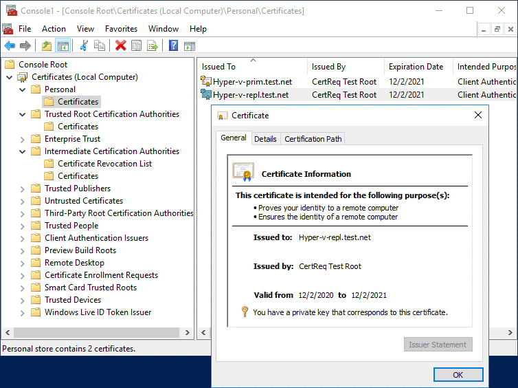 Certificates are valid (how to check SSL certificate expiration date in Windows)