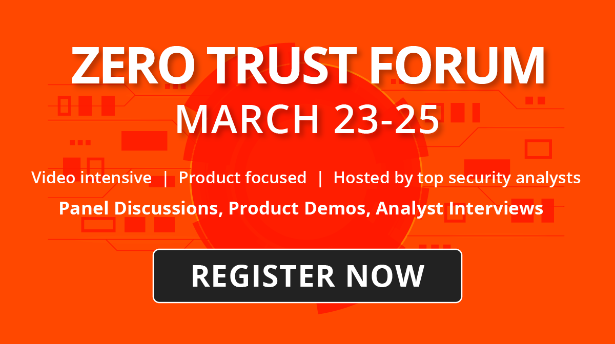 Zero Trust Demo Forum Registration