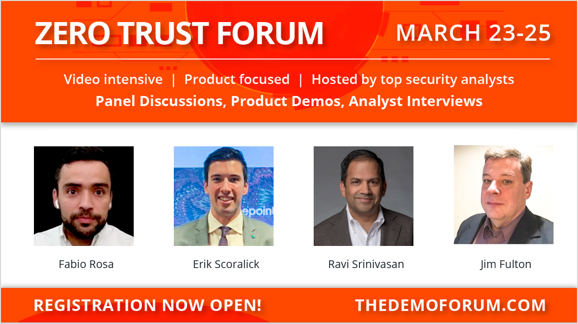 Forcepoint at the Zero Trust Demo Forum